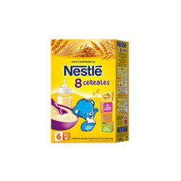 Nestle 8 Cereales 600g