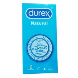 Durex Natural Plus Easy On 6 uds