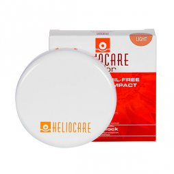 Heliocare Color Compacto Oil Free Light SPF50