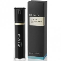 M2 beauté facial dual cell therapy serum