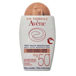 Avene Fluido Pantalla Física 50+ Color 40ml