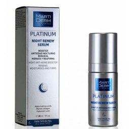 Martiderm Platinum Night Renew Serum
