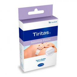 Tiritas Sensitive Elastic 6cm x 1M