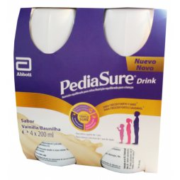 Pediasure Drink Vainilla 4 x 200ml