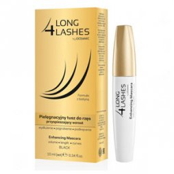 Long 4 Lashes Máscara de Pestañas Negra 10ml