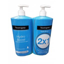 Neutrogena Hydro Boost Gel Locion 750ml+750ml