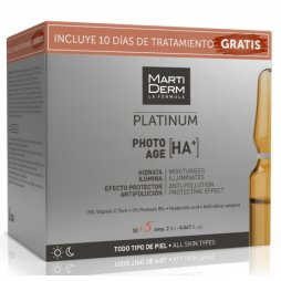Martiderm Platinun Photo Age 30+5 ampollas